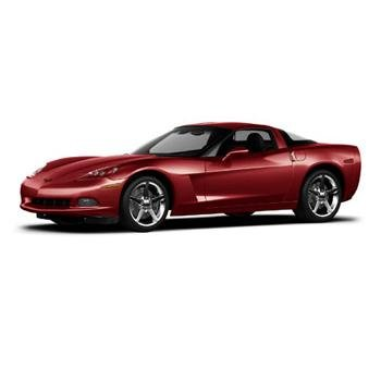 Mattel 2005 Red C6 Coupe 1/12 Corvette