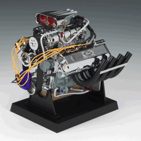 Supercharged 427 Ford Top Fuel Dragster 1/6 Engine by Liberty Classics, Inc.