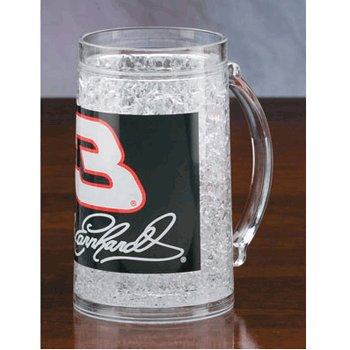 #3 Dale Earnhardt Cracked Ice Gel Frosty Mug BSI Products