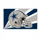 Dallas Cowboys NFL Helmet Design 3x5 Flag BSI Products -94203B