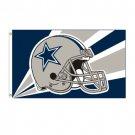Dallas Cowboys NFL Helmet Design 3x5 Flag BSI Products -94203B