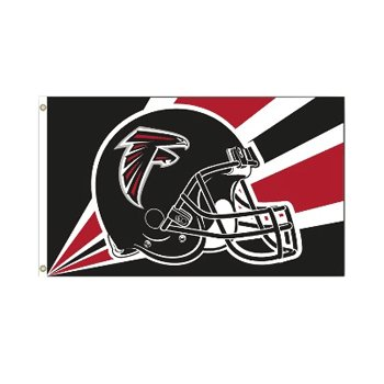 Atlanta Falcons NFL Helmet design 3x5 flag BSI Products -94220B