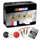 NASCAR Texas Hold'em Poker in a Tin by USAopoly 2005