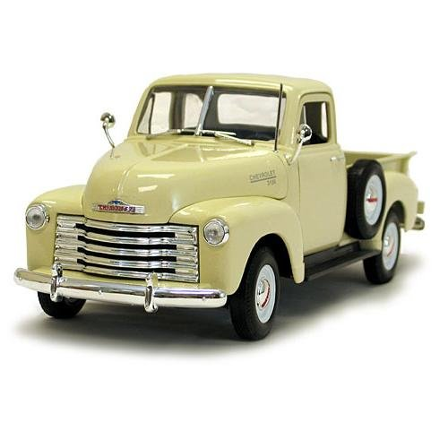 Welly 1953 Chevrolet 3100 Pickup - Cream - 1:18