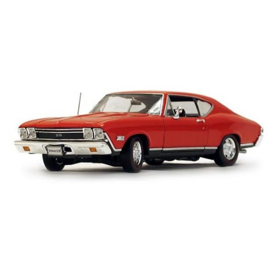 Welly 1968 Chevrolet Chevelle SS396 - Red - 1:18