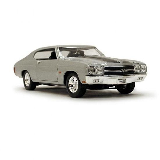 Welly 1970 Chevrolet Chevelle SS454 - Silver - 1:18