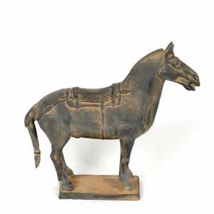 """Terra Cotta Horse 10"""""""