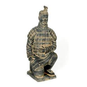 Terra Cotta Archer Statue - 38 Inch (100 cm)