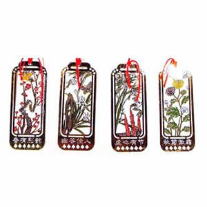 Cloisonne Bookmark - Flower Set 4