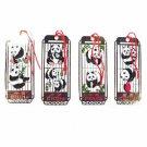 Cloisonne Bookmark - Panda Set 4