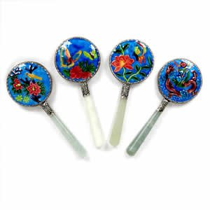 Hand Mirror - Color Enamel - Small