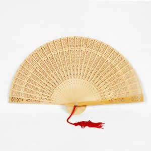 Chinese Sandalwood Fan
