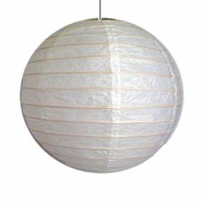 White Paper /  Bamboo Lanterns - 12 Inch Diameter