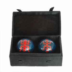 Chinese Health Balls, Cloisonne - Shou (44mm)