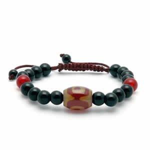Tibetan Bracelet - dZi Beads - Style 5