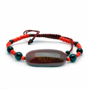 Tibetan Bracelet - dZi Beads - Style 3
