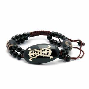 Tibetan dZi Beads Bracelet - Style 1