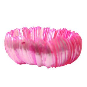 Genuine Shell Bracelet Thick - Pink