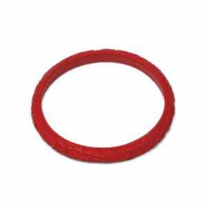 "Cinnabar Bracelet - 3.5"" x .375"""