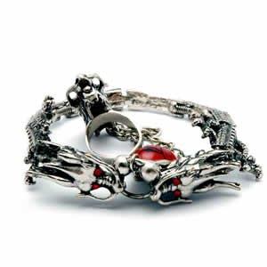 Dragon Bracelet - Bracelet with Slave Ring