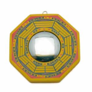 "Bagua - 4"" Wood - Convex"