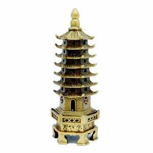 """Pagoda - Brass 5"""""""