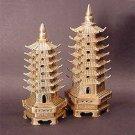 """Pagoda - Brass 6"""""""