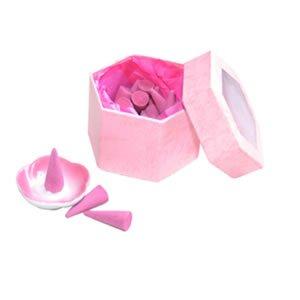 Incense Cones - Jasmine/Pink Window Box