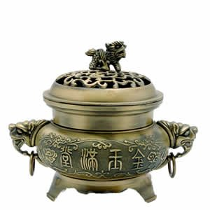 Incense Burner - Fu Temple