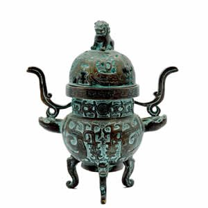 Incense Burner - Ornate Fu Censor