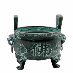 Incense Burner - Good Fortune Temple