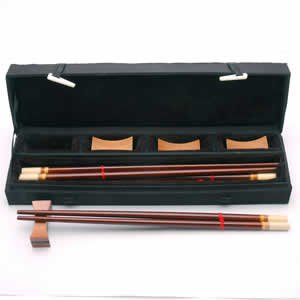 Wood Chopsticks - 4 Pair