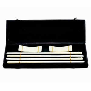 Porcelain Chopsticks - Neutral Tan - 2 Pair