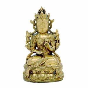 Bodhisattva Buddha - Brass - 5 inch