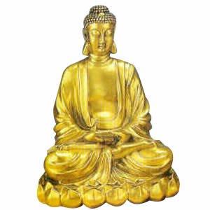 Sitting Buddha - Brass - 15 inch