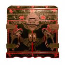 Traditional Lacquer Chest - Hand Etched Artwork