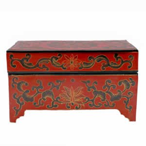 Dowry Box - Red Lacquer