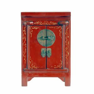 Classic Red Armoire - 13 inch