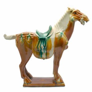 Tang Horse - Porcelain - 20 inch