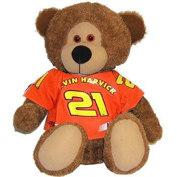 """#21 Kevin Harvick """"Reeses"""" 14 inch Bear"""