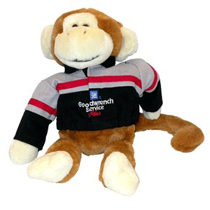 #29 Kevin Harvick Plush Monkey ARC 2001