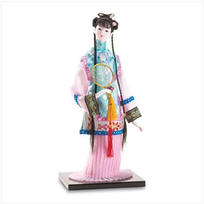 Chinese Maiden Figurine