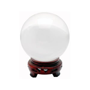 Crystal Ball - Clear - 1.6 Inches