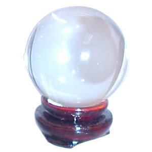 Crystal Ball - Clear - 2.4 Inches