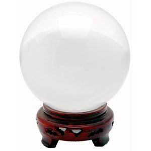 Crystal Ball - Clear - 5.9 Inches