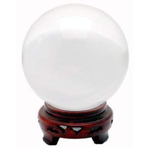 Crystal Ball - Clear - 7 Inches