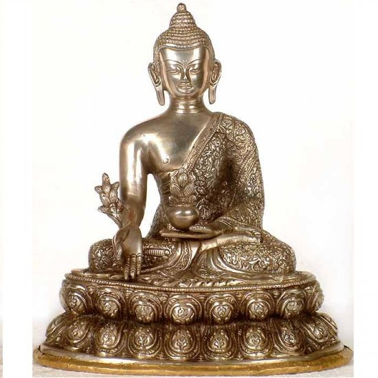 Indian Medicine Buddha - 11.6 Inch