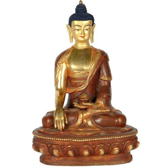 Bhumisparsha Buddha - Copper