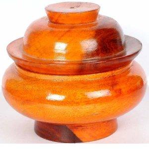 Ritual Bowl - Rich Wood