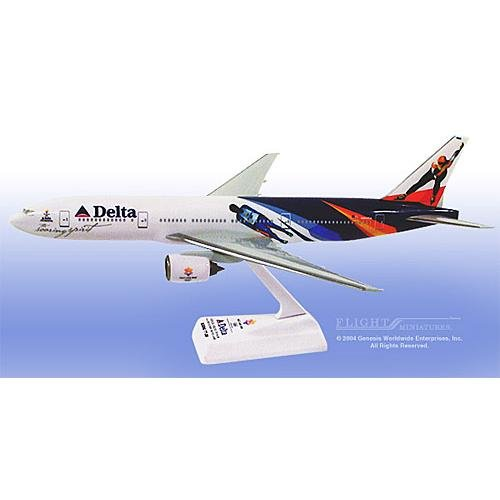 "Flight Miniatures - Delta 777-400 ""Olympics"" (1:200)"